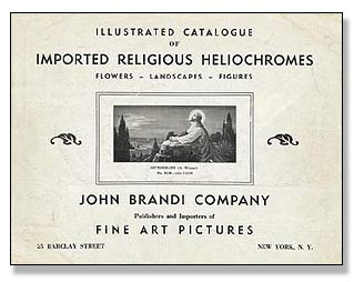 Religious Framed Art & Prints, Prayer Cards & Funeral Cards - John Brandi Company, Inc