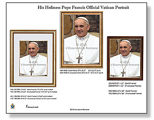 Pope Francis Official Vatican Portrait