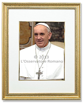 Pope Francis Official Portrait