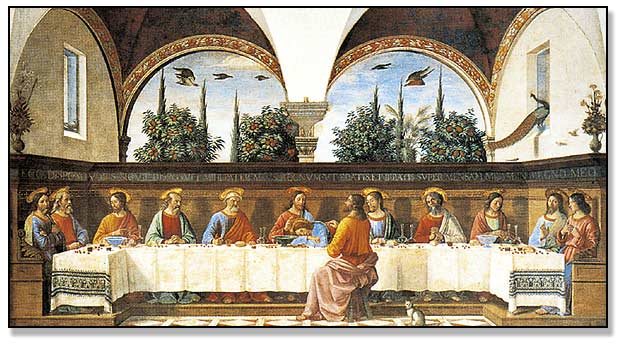 """The Last Supper"" Religious Framed Art & Prints, Prayer Cards & Funeral Cards - John Brandi Company, Inc"